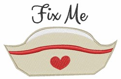 Fix Me embroidery design
