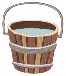 Water Pail embroidery design