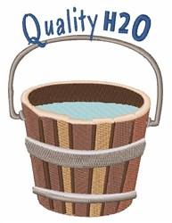 Quality H2O embroidery design