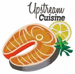 Upstream Cuisine embroidery design