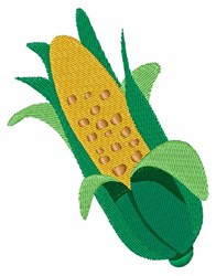 Ear Of Corn embroidery design
