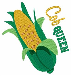 Cob Queen embroidery design