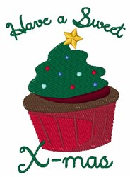 A Sweet X-mas embroidery design