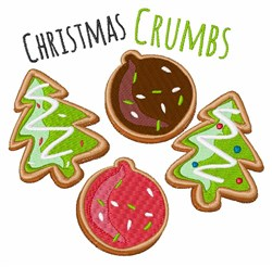 Christmas Crumbs embroidery design