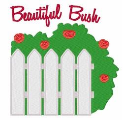 Beautiful Bush embroidery design