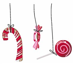 Holiday Candy embroidery design