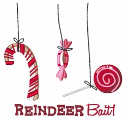 Reindeer Bait embroidery design