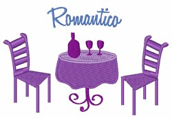 Romantico embroidery design