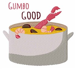 Gumbo Good embroidery design