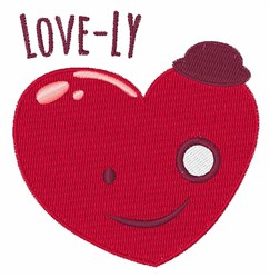 Love-ly embroidery design