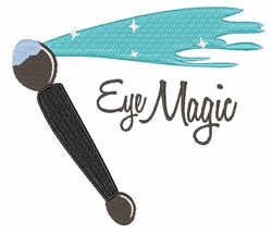Eye Magic embroidery design