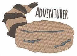 Adventurer Cap embroidery design