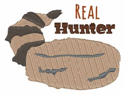 Real Hunter embroidery design