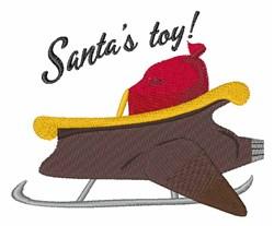 Santas Toy embroidery design