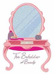 Beholder Of Beauty embroidery design