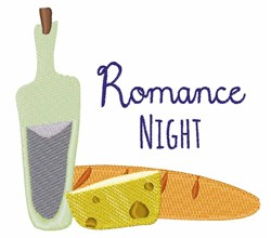 Romance Night embroidery design