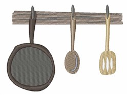 Kitchen Pan embroidery design
