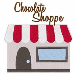 Chocolate Shoppe embroidery design