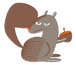Rodent Squirrel embroidery design