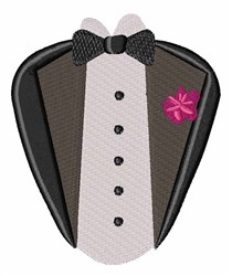 Groom Tux embroidery design