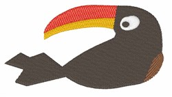 Toucan Bird embroidery design