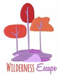 Wilderness Escape embroidery design