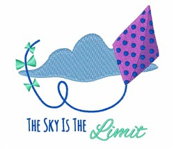 Sky The Limit embroidery design