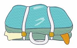 Suitcase embroidery design