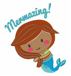 Mermazing! embroidery design