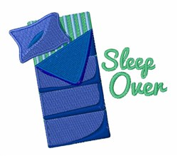 Sleep Over embroidery design