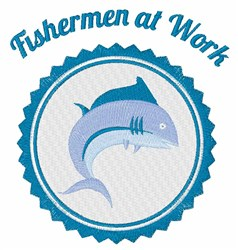 Fisherman At Work embroidery design