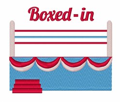 Boxed In embroidery design
