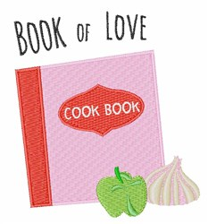 Book Of Love embroidery design
