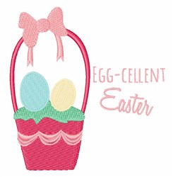 Egg-cellent Easter embroidery design