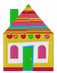 House embroidery design