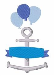 Boy Birthday Banner embroidery design