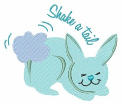 Shake A Tail embroidery design
