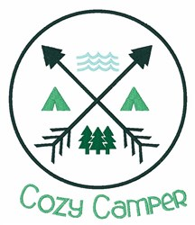 Cozy Camper embroidery design
