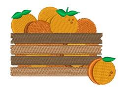 Orange Crate embroidery design