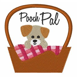 Pooch Pal embroidery design