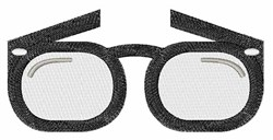 Eye Glasses embroidery design