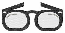 Eye Glasses embroidery design