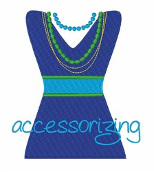 Accessorizing embroidery design