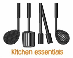 Kitchen Essentials embroidery design