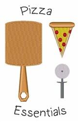 Pizza Essentials embroidery design
