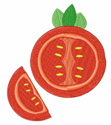 Tomato embroidery design