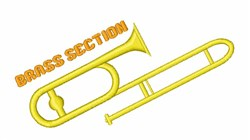 Brass Section embroidery design