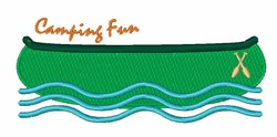 Camping Fun embroidery design
