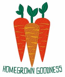 Homegrown Goodness embroidery design