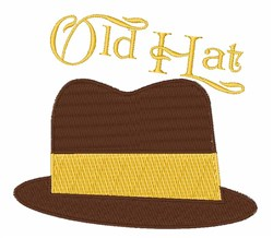 Old Hat embroidery design